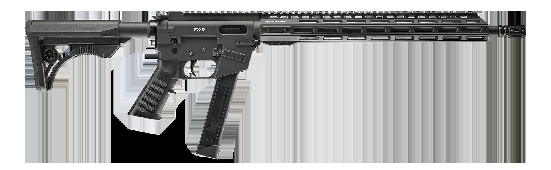 """FX-9 16"""" 9mm Firearm"""