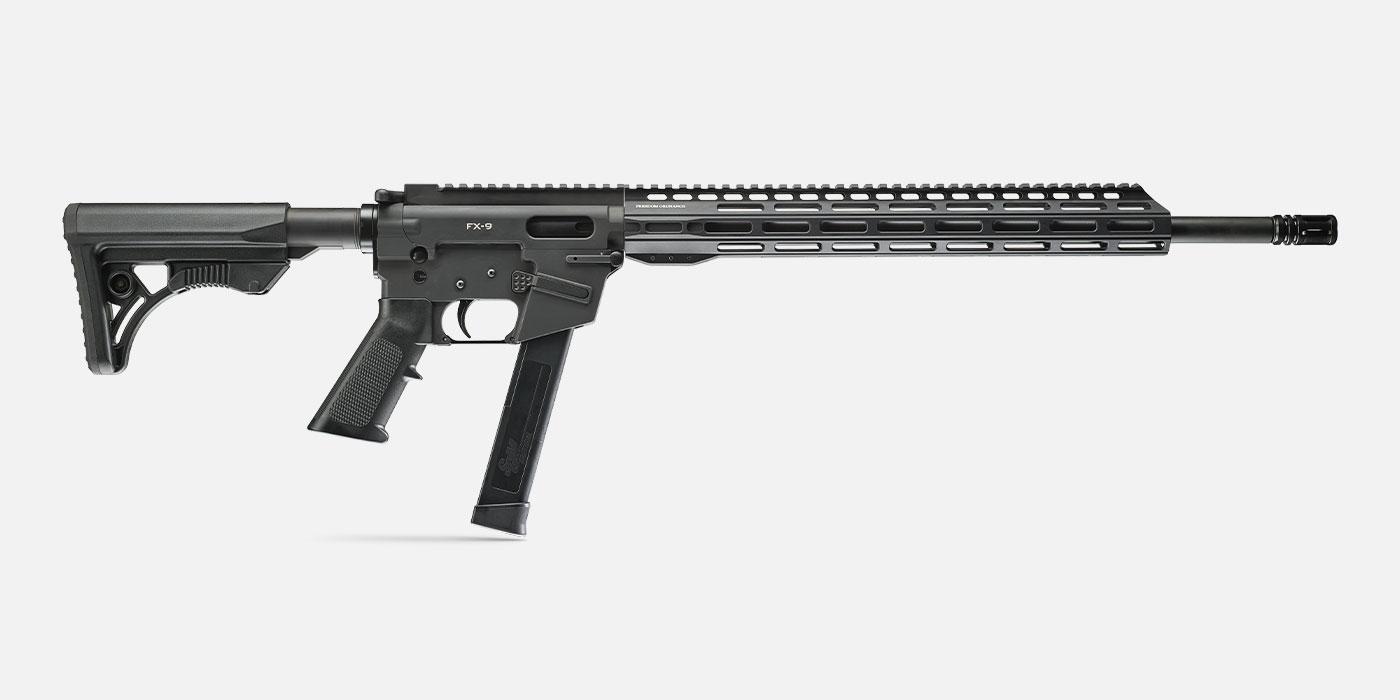 """FX-9 18"""" 9mm Firearm"""