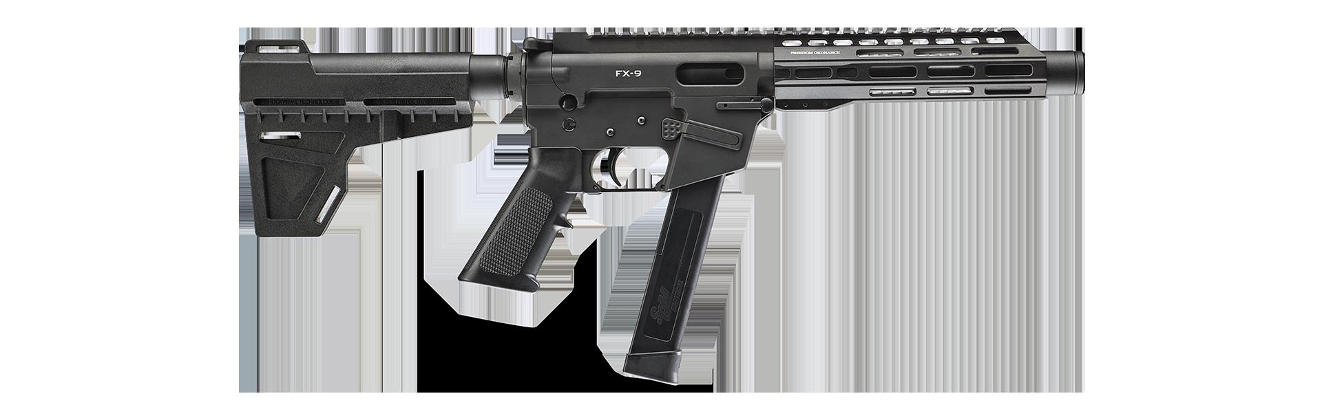"""FX-9 8"""" 9mm Firearm"""