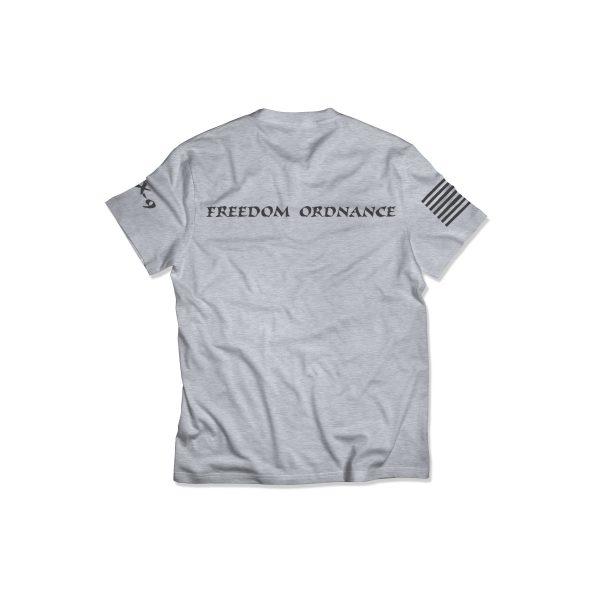 Freedom Ordnance Shop Shirt Back
