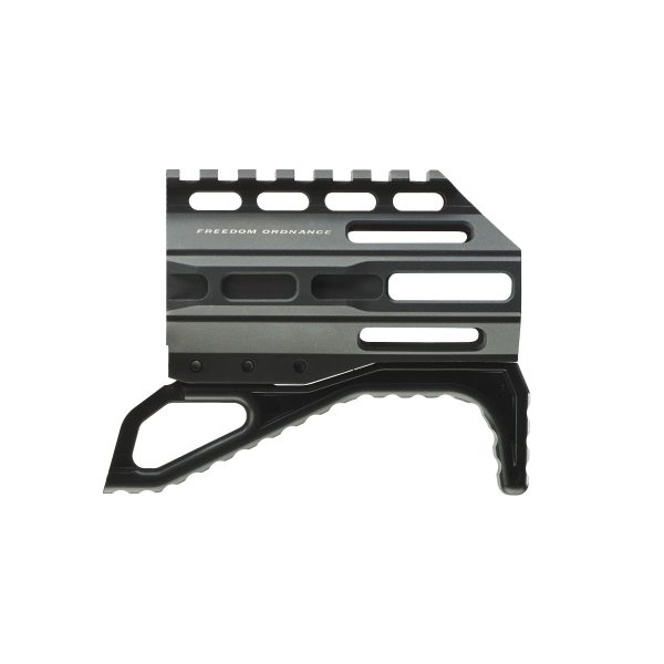 """FX-9 4"""" Rail with Angled Fore Grip"""